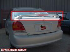 ABS Plastic Unpaint OE Style Rear Spoiler Wing+Brake Light for 2001-2005 Echo