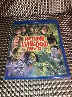 Return of the Living Dead 2 (Blu-ray, 2018, Collectors Edition) No Slipcover