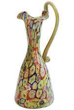 Vetro di murano glass Vaso Murrine anni '30 Egidio Ferro Vetreria A.Ve.M.