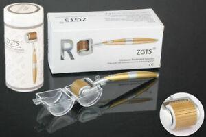 ZGTS Titanium Micro Needle Anti Ageing Acne Scar Wrinkle Skin Care Derma Roller