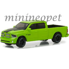 GREENLIGHT 29927 2017 DODGE RAM SPORT PEARL COAT PICKUP TRUCK 1/64 SUBLIME GREEN