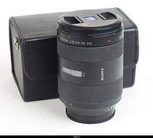 Sony Vario-Sonnar T* 24-70mm F/2.8 ZA SSM Sony Alpha