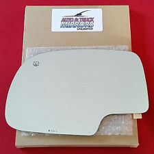 NEW Mirror Glass CHEVY GMC Driver Left Side POWER HEATED ***FAST SHIPPING***