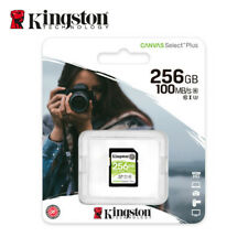 Kingston Canvas Select Plus 256GB SDXC Class 10 SD Memory Card UHS-I U1 100MB/s