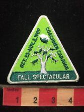 Vtg COACHMAN CARAVAN FALL SPECTACULAR Patch 70WD