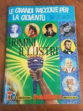 Panini Album Figurine UOMINI ILLUSTRI 1967 completo Eccellente