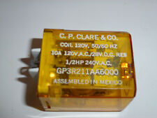 C P Clarke GP3R211AA6000 Plug-In Relay,  FREE SHIPPING, WG1273