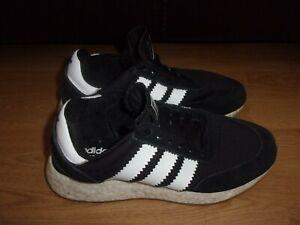 Adidas Originals I-5923 Black & White boys trainers size 3.5