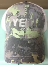 Yeti Coolers Simms Saltwater Camo Hat, Very Rare, Limited Edition!