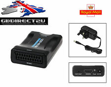 1080P SCART a HDMI Mhl Convertitore Adattatore Video Audio HD TV DVD SKY Box STB UK