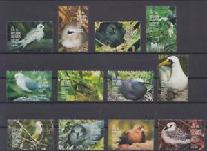 PITCAIRN ISLAND 1995 BIRD STAMPS SC 415-26 MNH TOP52