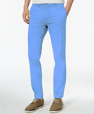 NEW MENS TOMMY HILFIGER BLUE SLIM FIT CHINO PANTS 40 x 32
