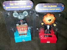 Solar Dancing Circus Mouse Musician & Lion Musican New in Package