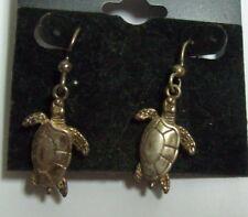 KABANA Sterling Turtle Earrings