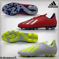 ⚽ Adidas X 18.4 FxG Junior Football Boots Size UK 11 2 3 3.5 4 5 5.5 Girls Boys