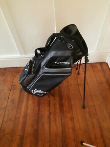 Callaway X Series lightweight Stand Golf Bag with double strap system.