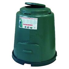 Compostiera composter circolare da giardino, rotonda, per rifiuti organici umido