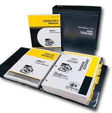 Service Manual For John Deere Jd 450C Crawler Dozer Operator Parts Tech Repair