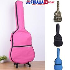 39''-41'' Acoustic Guitar Double Straps Soft Carry Case Gig Bag Padded Backpack