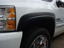 Chevy Silverado SHORTBED ABS Black Set of Fender Flares 2007-2013 Factory Style