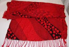 Sciarpe, foulard e scialli da donna neri geometrici senza marca