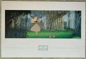 Vintage Poster Sleeping Beauty 1959 Disney Gallery Images 24 x 36 Nursery Decor