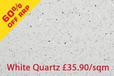 Sample White Quartz Sparkling Mirror Fleck Wall & Floor Tiles