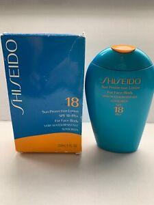 New Shiseido Sun Protection Lotion SPF 18 PA+ 150mL 5fl.oz Sunscreen very water