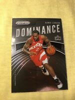 2019-20 Panini Prizm Kawhi Leonard Dominance Insert #16 Toronto Raptors NBA