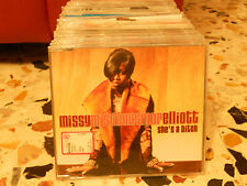 MISSY ELLIOTT - SHE'S A BITCH radio edit + clean version - cd slim case PROMO