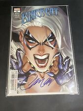 Black Cat #6 NM SIGNED J Scott Campbell Retail Trade Dress W/ COA Spider-man