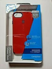 (New, open box) Speck CandyShell Case/iPhone SE(2020) 8/7/6S/6- Red