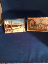 Bing Crosby Home Postcard Toluca Palm Springs California Vintage Hollywood