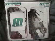 MUSICSKINS HTC WILDFIRE SKIN DECAL STICKERS COVER BOB MARLEY -  PROFILE BNIP