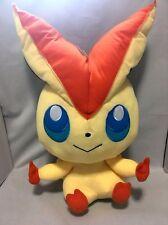 Pokemon plush / BW Big Victini / BANPRESTO 2011 / 43 cm / Japan official doll