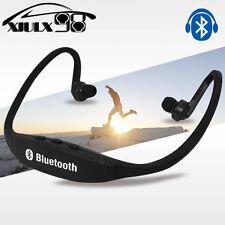 Black Bluetooth Wireless Headset Stereo Headphone Earphone Handfree Sport