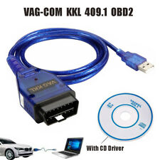 VAG-COM KKL 409.1 USB Cable OBD2 II OBD Diagnostic Scanner Tool For Audi VW SEAT