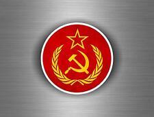 Sticker ussr cccp sssr urss russia soviet union flag decal emblem russian car r8