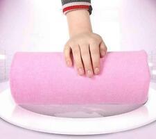 Soft Salon Cushion Hand Rest Pillow Nail Art Design Manicure Care Half Column