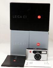 Leica C1 c/w Vario-Elmar 35-105mm ASPH Lens, Manual, Warranty in Original Box