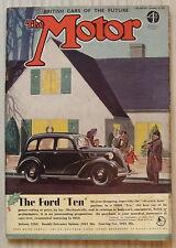 The MOTOR Magazine 14 Dec 1937 10HP Railton HANSA Hupmobile TUEFEL WAGEN 1875