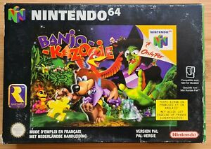Nintendo 64 N64 - Banjo-Kazooie - PAL - FAH CIB Complet