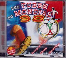 CD 16 TITRES  LES TUBES DU MONDIAL 98 PAR PAT BENESTA FRANCE