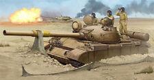 Trumpeter 01548 1/35 T-62 Mod.1962 Iraqi Regular Army Tank model