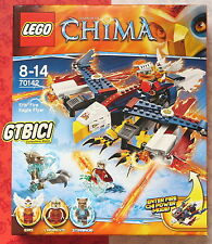 LEGO CHIMA `` EL EAGLE FLAMING ERIS ´´ Ref 70142 NEW TO BRAND NEW