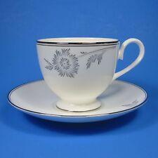 Royal Doulton ALLURE PLATINUM Cup & Saucer Set (s) New