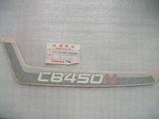 Pegatinas Honda CB450N / rayas funda izquierda / raya 87129-KK9-950ZA