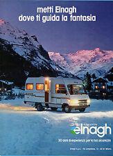 GENTEMOTORI983-PUBBLICITA'/ADVERTISING-1983- ELNAGH CARAVAN/AUTOCARAVAN