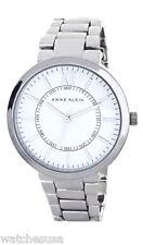 Anne Klein Womens White Dial Metal Bracelet Watch AK/1555WTSV