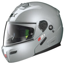 CASCO MODULARE GREX G9.1 EVOLVE KINETIC N-COM - 23 Metal Silver TAGLIA XL